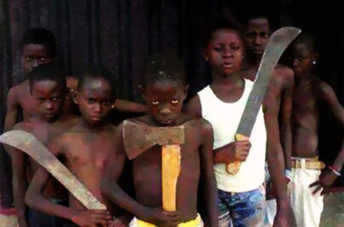 Article : «microbes» à Abidjan : Délinquance juvénile