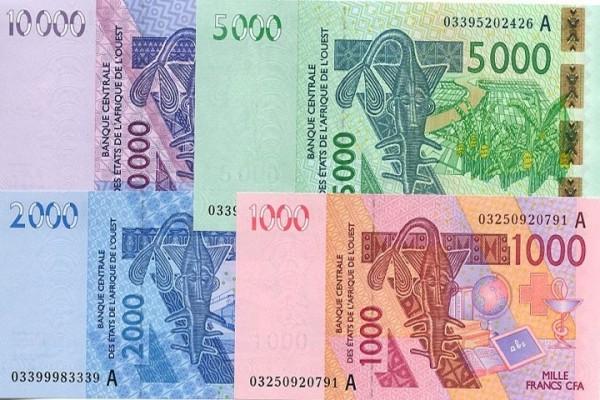 Billets de banque franc cfa pour l'UEMOA, ph. imatin.net