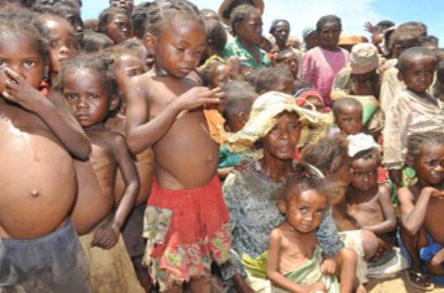 Article : Famine dans le sud de Madagascar: vent de désespoir sur la région