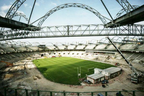 stade en construction pour la can 2017
