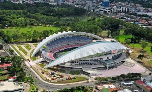 Stade de football pour la CAN 2017 au Gabon