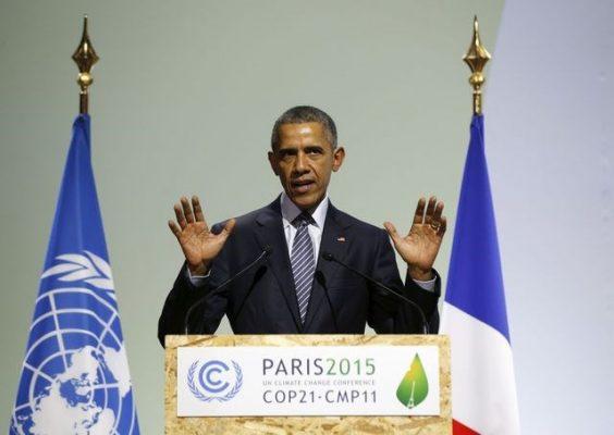 Obama à Paris pour la COP21