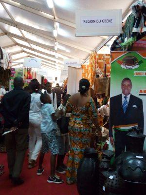 Stands des régions de Côte D'Ivoire