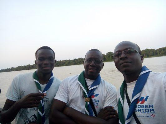 au bord du fleuve Bandaman